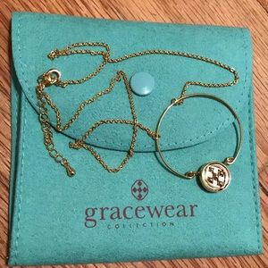 BRAND NEW Gracewear Gold Necklace